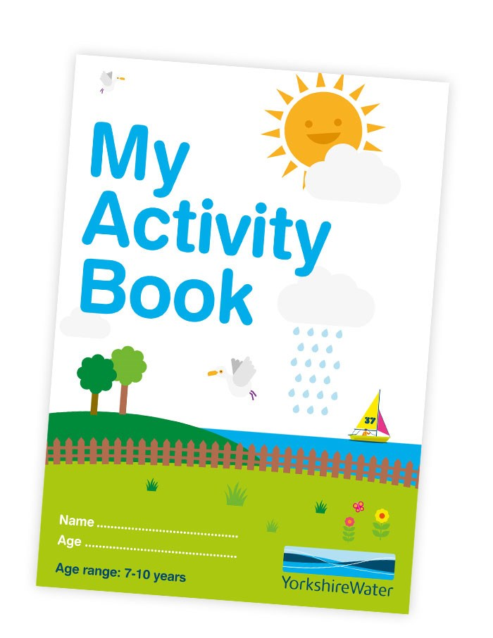Activity book for 7-10 years